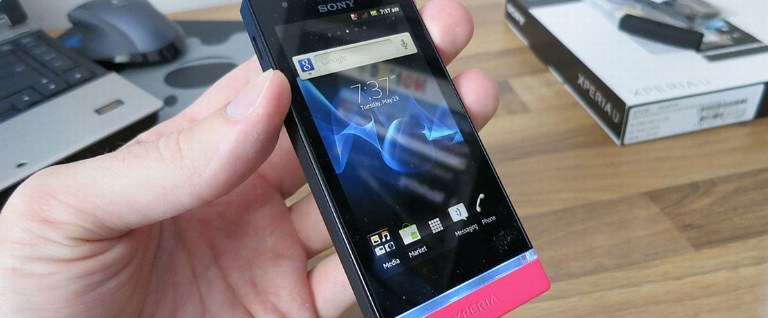"Test: Sony Xperia U (3.5"", Android OS)"