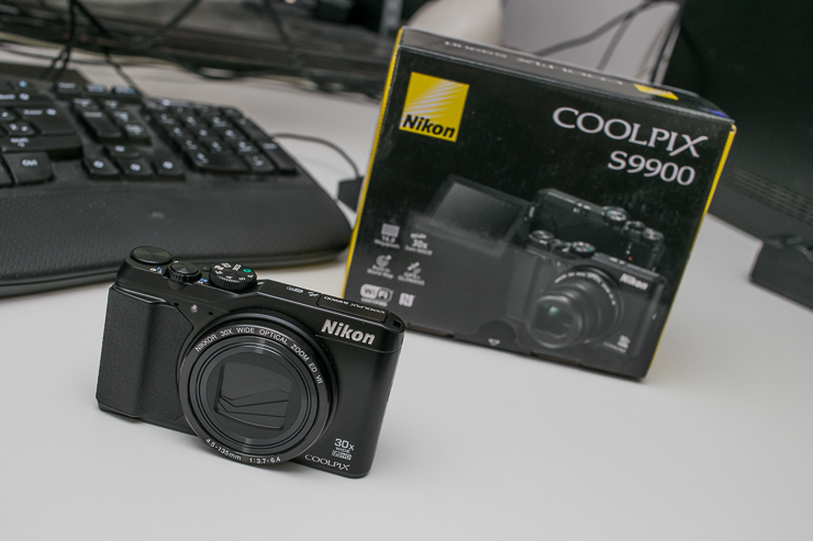 Brzinski test: Nikon Coolpix S9900